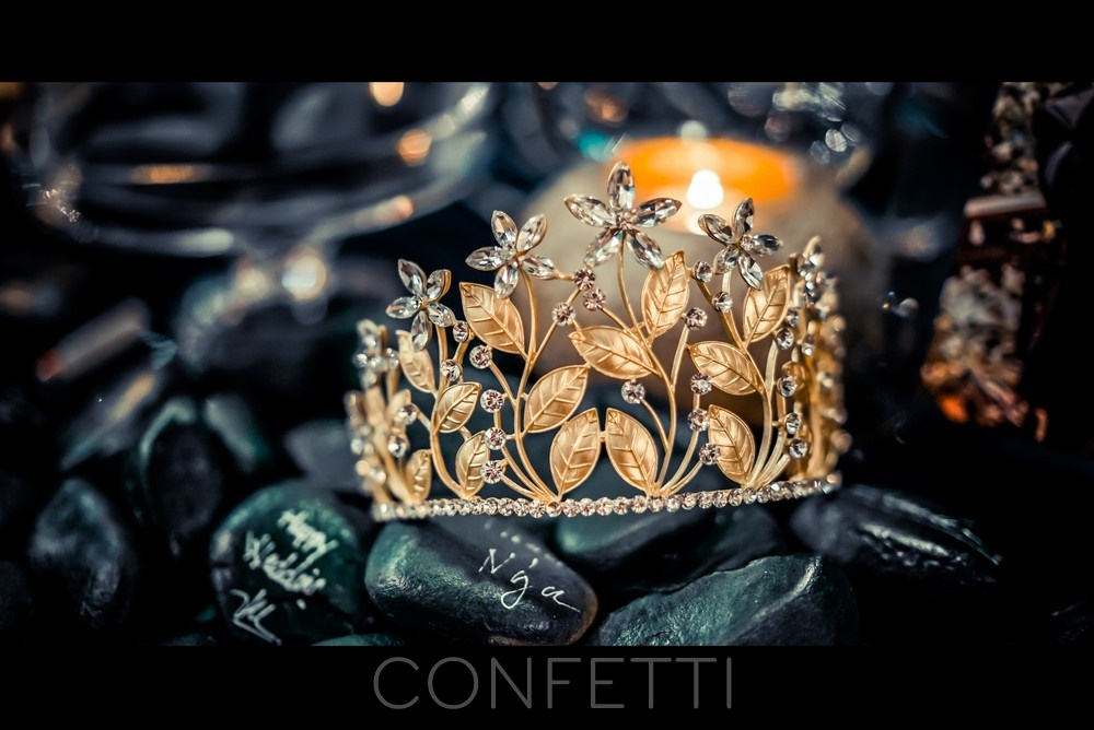 Confetti-real-wedding-Love forest treasure (19)